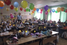 Инспекторы дорожного движения Татарстана поздравили школьников с Днем знаний