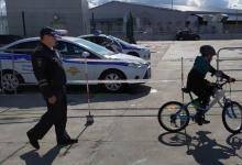 Массовый ПДД – тренинг для детей-велосипедистов провели сотрудники Госавтоинспекции Татарстана