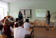 Сотрудники ГИБДД посетили Родниковских школьников