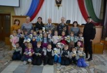В рамках акции «Неделя мужества» юные жители Елабуги посетили отдел полиции