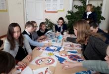 В Петровском районе автоинспекторы провели профилактическое мероприятие для сельских школьников