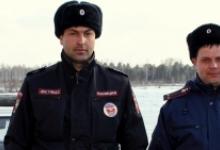 Сотрудники ГИБДД в Красноярском крае помогли женщине, которой стало плохо на улице