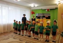 Госавтоинспекция с дошкольниками побывали в гостях у сказки