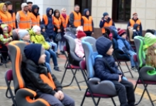 В Анадыре Госавтоинспекторы подвели итоги акции «Ребенок-главный пассажир» 18 Апреля  18:17