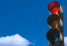 Светофоры для уличного транспорта - круглые -