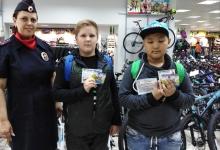 Сотрудники ГИБДД встретились с покупателями велосипедов