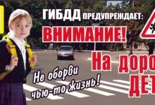 В Республике Татарстан в период с 20 мая по 2 июня 2019 года проводиться профилактическое мероприятие «Внимание – дети!».