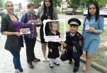 Самые маленькие жители Ставрополья участвуют в фотопроекте «Ребенок- главный пассажир»