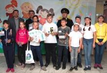 В Шушенском госавтоинспекторы проверили у школьников навыки вождения велосипедом