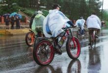 На севере Красноярского края сотрудники ГИБДД совместно с молодежью района провели велопробег