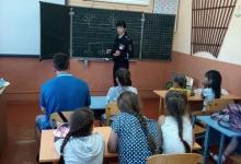 В Багратионовске сотрудники Госавтоинспекции провели профилактические беседы в пришкольном лагере