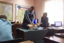 Тамбовские автоинспекторы проходят обучение по оказанию первой медицинской помощи пострадавшим в ДТП
