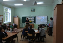 В Тверской области автоинспекторы провели для детей интерактивную игру по Правилам дорожного движения
