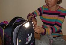 Мой новый ранец со световозвращающими элементами