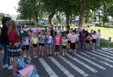 Сотрудники тымовской ГИБДД провели мероприятие для юных пешеходов