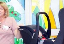 В Красноярском крае будущие мамы посещают тренинги по безопасной перевозке новорождённых
