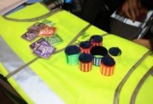 Югорские школьники самостоятельно изготовили светоотражающие элементы