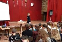 Сотрудники Госавтоинспекции Сафоновского района провели кинолекторий со школьниками