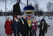 В Йошкар-Оле Светофор Светофорович напомнил детям о правилах дорожного движения