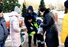 В Белгородской области развёрнуты передвижные пункты разъяснения ПДД