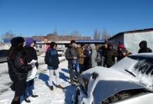 Экскурсии на стоянку автомобилей после ДТП проходят для молодых водителей Ставрополья