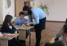 Школьники Краснокутского района присоединились к акции «Внимание, юный пешеход!»