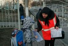 В Белгородской области «родительский патруль» школ и детских садов контролирует безопасность движения по зимней дороге
