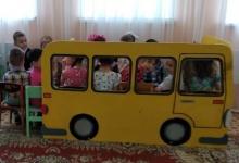 В бугульминском детском саду №19 «Милэшкэй» прошло мероприятие «В поисках дорожных знаков»