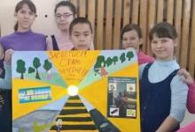 Медучреждения Хакасии украсили плакаты с информацией о пользе световозвращающих элементов