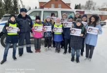 В Большереченском районе прошла пропагандистская акция «Водители, берегите наше детство!»