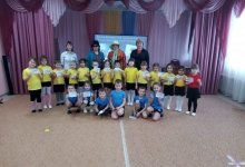 Сотрудники ГИБДД организовали познавательное мероприятие для дошкольников