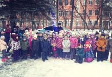 Сотрудники Госавтоинспекции г. Твери провели занятие для воспитанников детского сада № 97 г. Твери