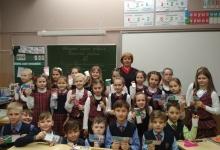 Сотрудники Госавтоинспекции провели для школьников профилактическое занятие «Знай и соблюдай».