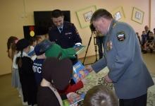 В гости к чистопольским дошколятам пришли сотрудники ГИБДД