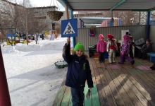 Единый день ЮИД прошел в детском саду № 48 Верхней Пышмы