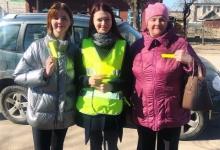 """В Смоленской области автоинспекторы провели для пешеходов профилактическое мероприятие """"Наших видно!"""""""