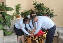 Для сотрудников Госавтоинспекции проводятся обучающие занятия по оказанию доврачебной помощи пострадавшим в ДТП