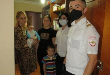 Инспекторы Отдельного батальона ДПС г. Владикавказа продолжают оказывать помощь нуждающимся семьям