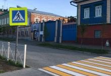 Знак Пешеходный переход на Старо-татарской слободе