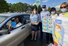 Татарстанские автоинспекторы вместе с воспитателями детских садов провели ликбез для водителей и пешеходов