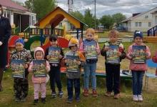 Красноселькупские автоинспекторы провели урок безопасности с воспитанниками детского сада