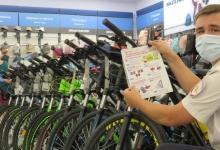 В центре внимания сотрудников ГИБДД Севастополя – будущие велосипедисты и их родители