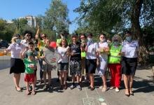 В Международный день светофора сотрудники Госавтоинспекции напомнили детям о том, как важно соблюдать требования ПДД