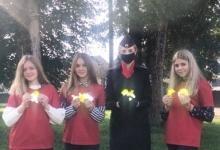 Волонтеры отряда «Твори добро» и ОГИБДД МО МВД России «Починковский» провели акцию по популяризации световозвращающих элементов