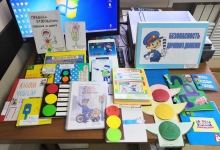 В Северобайкальске дошкольники изготовили книжки-малышки по правилам дорожного движения