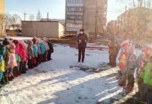 ГИБДД Копейска проводит профилактическую работу с дошкольниками