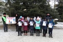 Саратовские автоинспекторы провели акцию «Безопасная дорога - детям!»