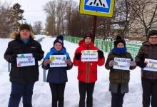 В Новосибирской области сотрудники ГИБДД и ЮИДовцы провели акцию «Засветись!»