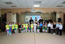 В Татарстане дошколята приняли участие в флешмобе по безопасности дорожного движения