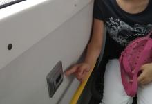 В общественном транспорте появились USB зарядки